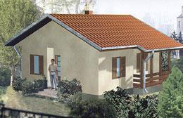 Montažne kuće Ivanjica Tip 52