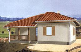 Montažne kuće Ivanjica Tip 77