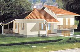 Montažne kuće Ivanjica Tip 90