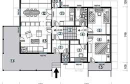 Montažne kuće Ivanjica Tip 105 skica
