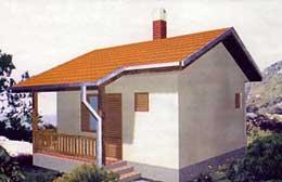 Montažne kuće Ivanjica Tip 30