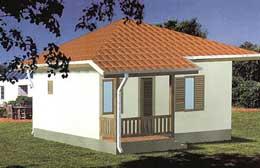 Montažne kuće Ivanjica Tip 40