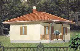 Montažne kuće Ivanjica Tip 57-1