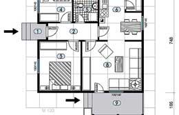 Montažne kuće Ivanjica Tip 66 skica
