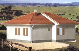 Montažne kuće Ivanjica Tip 77-1