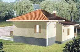 Montažne kuće Ivanjica Tip 90-1