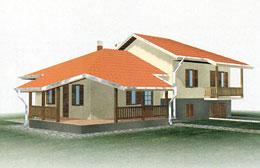 Montažne kuće Ivanjica Tip 117