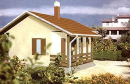 Montažne kuće Ivanjica Tip 36