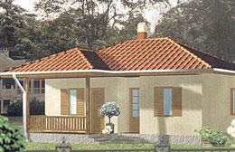Montažne kuće Ivanjica Tip 57