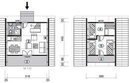 Montažne kuće Ivanjica Tip Golija 30 skica