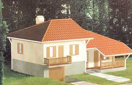Montažne kuće Ivanjica Tip 101-1
