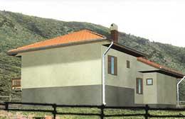 Montažne kuće Ivanjica Tip 105-1
