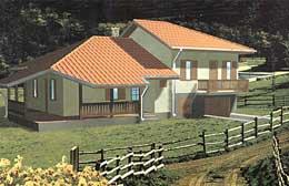 Montažne kuće Ivanjica Tip 105