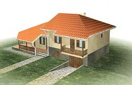 Montažne kuće Ivanjica Tip 117-1