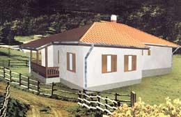 Montažne kuće Ivanjica Tip 127-1