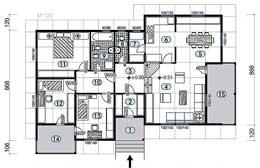 Montažne kuće Ivanjica Tip 127 skica