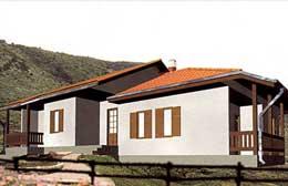 Montažne kuće Ivanjica Tip 127