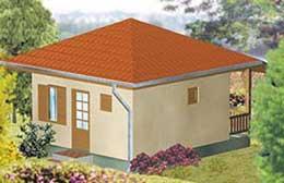 Montažne kuće Ivanjica Tip 27-1