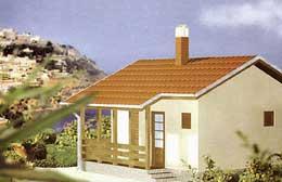 Montažne kuće Ivanjica Tip 36-1