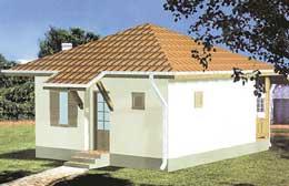 Montažne kuće Ivanjica Tip 40-1