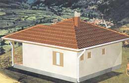 Montažne kuće Ivanjica Tip 59-1